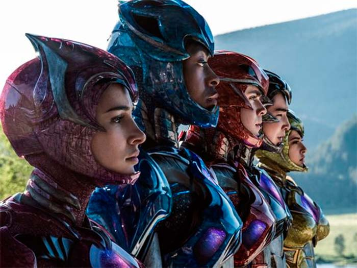 power rangers sin mascara