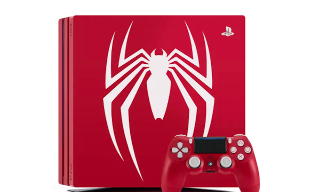 PS4 Pro Spiderman Limited Edition