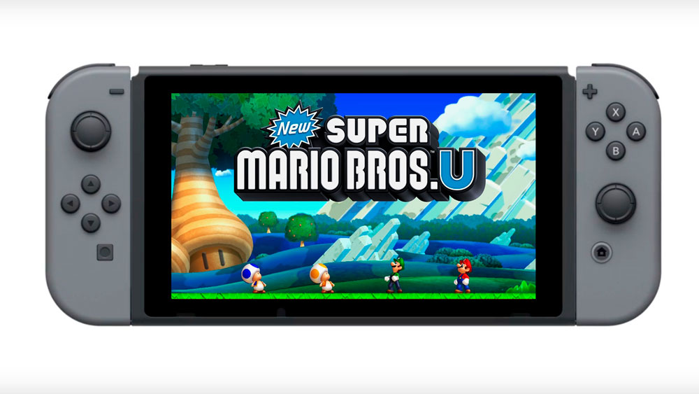 New Super Mario Bros U Nintendo Switch