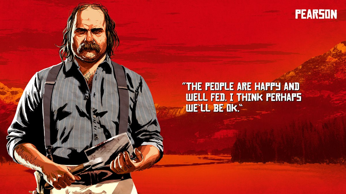 Pearson - Red Dead Redemption 2