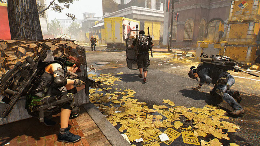 The Division 2 Conflicto PvP