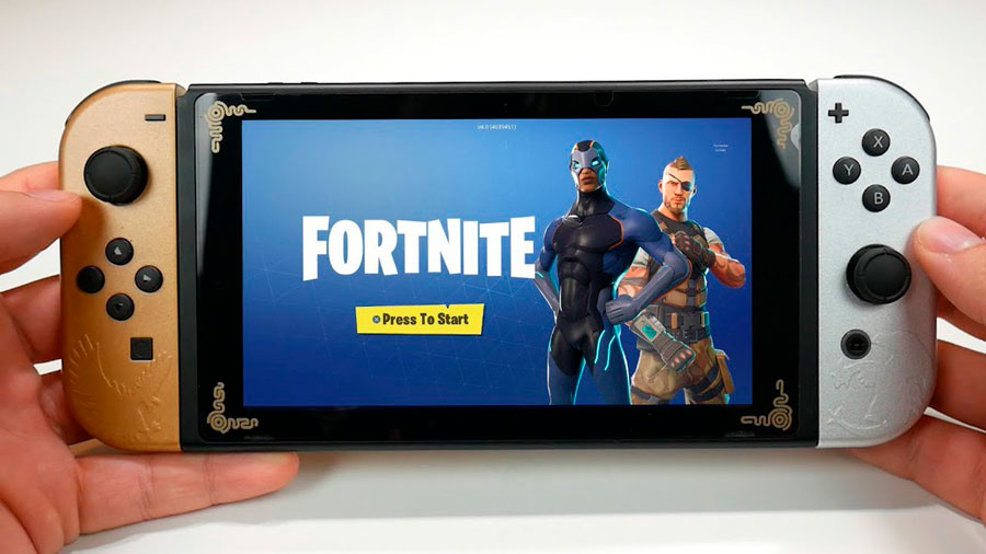 Fortnite en Nintendo Switch