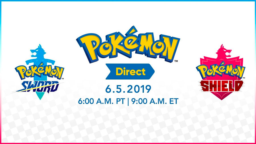 Pokemon Direct 5 de junio 2019